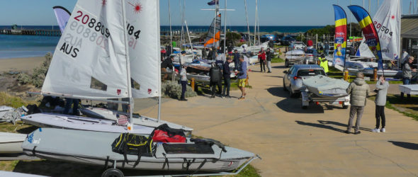 Sail Mordi/Vic Dinghy Champs – a great weekend!
